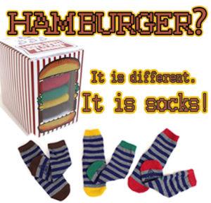 ハンバーガーソックス2